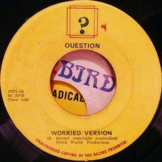 Worried version!  #reggae #jamaica #45rpm #dub #reggaelabelart #version #instrumental #questionmark #questionrecords #worriedversion #worriedoveryou #honeyboy  #thirdworld #thirdworldrecords #madeinjamaica #reggaefever #rootsmusic #rootsreggae #recordcollectors by albwizz
