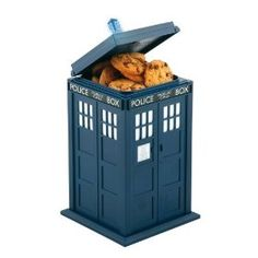 No kitchen is complete without a Tardis cookie jar.