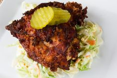 Fried Chicken: Recipes for the Crispy Crunchy, Comfort-Food Classic.– Pickle-Brined Thighs