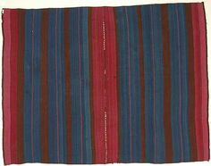 Bolivia | Aymara Woman's Mantle | Camelid hair | H. 40 x W. 51 in. | 19th century