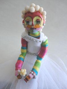 OOAK  Bubbly Bride Fine Art Doll by paigelackeymartin on Etsy
