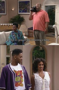 Fresh Prince of Bel Air. BUT GUYS LOOK AT WILLS HAIR THERE AHAHAHA
