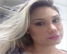 A blogueira @febegara com o Soft Matte Lip Cream San Paulo