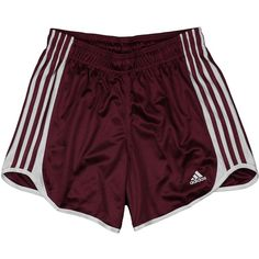 Adidas Womens Athletic Mesh DATTO Shorts (€18) ❤ liked on Polyvore featuring shorts, bottoms, short, pants and adidas
