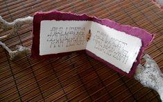 Kalligrafie op papier