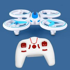 You'll be the talk of your next trade show if you brand your logo on the new LED Lighted Gyro Drone Quadcopter! Durably built from unbreakable polypropylene with encased flight blades to avoid being damaged in crashes. Innovative design permits stable long distance flights both indoors and out (up to 150 foot radius)! The drone fully illuminates for visually exciting nighttime flights. Your 1-color logo imprinted on the remote control unit. #promotional #products