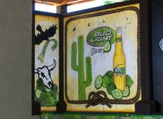 Bud light lime patio mural hooters downtown toronto ae bud light lime mural mozeypictures Gallery