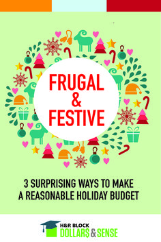 How to make a holiday budget #tips #budget