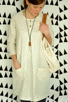 A Wiksten dress -- pattern looks very similar to the Tova, so perhaps I could make something like it?