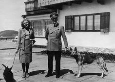 Nur Blondi darf aufs Foto:  Hitler hatte genaue Vorstellungen davon, welche...