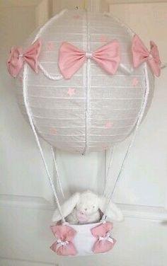 light shade pink grey hot air balloon rabbit looks stunning nursery x Balloon Lights, Hot Air Balloon, Balloons, Bedroom Carpet, Living Room Carpet, Fluffy Rug, Light Shades, Girls Bedroom