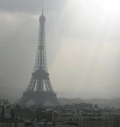 Eiffel Tower - any day of the week it makes me smile.