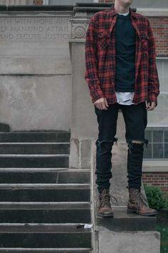 Fashion vest, mens boots fashion, fashion clothes, men fashion, latest me. Mens Boots Fashion, Latest Mens Fashion, Mens Grunge Fashion, Grunge Men, Fashion Vest, Fashion Clothes, Men Fashion, Fashion Ideas, Man Clothes