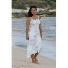 Princess Kawananakoa Hawaiian Beach Wedding Dress (Apparel)  http://balanceddiet.me.uk/lushstuff.php?p=B0010EFIPM  B0010EFIPM
