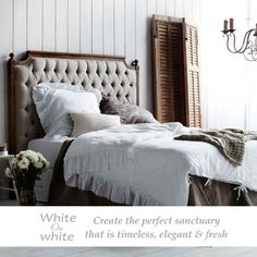 Our mission is to inspire a Whiteport lifestyle in every home. Whiteport offers a unique range of premium and affordable bedding, furniture and homewares, all themed around a stylish white palette. Our online store is a one-stop shop for inspirational home décor, bed linen, napery and furniture. The possibilities are endless when you decorate with white.