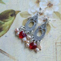 Helmipaikka Oy - Joka päivä on korupäivä - Helmipaikka. Crochet Earrings, Swarovski, Drop Earrings, Jewelry, Jewellery Making, Jewels, Jewlery, Jewerly, Jewelery