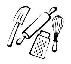 Baking Utensils Stock Photos Image 32454563 - Clipart Suggest Baking Utensils, Cooking Utensils Set, Kitchen Logo, Kitchen Art, Kitchen Signs, Kitchen Cartoon, Cooking Clipart, Kitchen Clipart, Wood Burn Designs