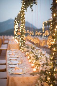 Blogger Diipa Khosla's Wedding Pictures Is What You Should Be Seeing Today - Frugal2Fab Dinner Party Table, Wedding Dinner, Wedding Bells, Reception Table, Trendy Wedding, Floral Wedding, Elegant Wedding, Boho Wedding, Perfect Wedding