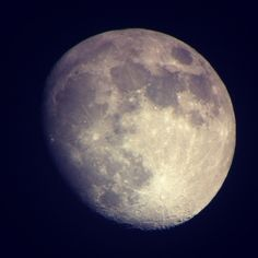 from our backyard. iphone+telescope.