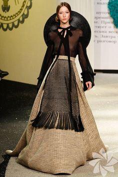 Ulyana Sergeenko 2013 Haute Couture İlkbahar Yaz Koleksiyonu... - Kadınca Hayat - HTHayat Galeri | Sayfa: 11