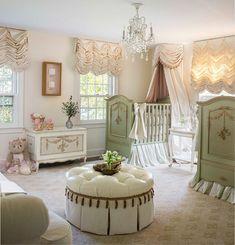 Spacious nursery with a touch of traditional French finesse