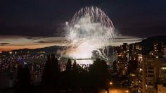 A time lapse video of the firework events in Vancouver, Canada 2015 Niagara Falls, Fireworks, No Time For Me, Vancouver, Canada, Events, Videos, Nature, Travel
