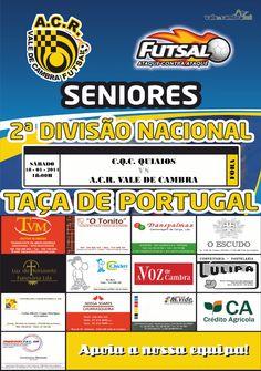 Futsal: Taça de Portugal *CQC Quiaios vs ACR Vale de Cambra* > 18 Jan 2014, 18h00 #futsal