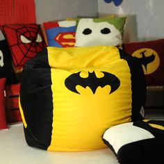 Birthday – Superhero teen adult lounge chair (cover + insert) – a unique product by ejsi on DaWanda