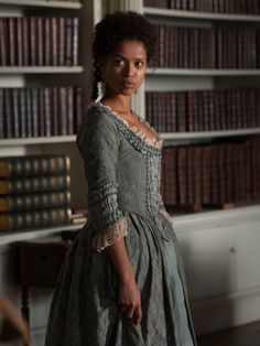 Gugu Mbatha-Raw as Dido Elizabeth Belle in 2014 Movie called Belle.  'Belle': Romance, Race And Slavery With Jane Austen Style