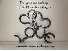 Designed and made by Rustic Horseshoe Designs.  Find us on facebook.