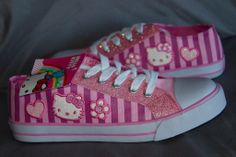 HELLO KITTY PINK ADORABLE SNEAKERS