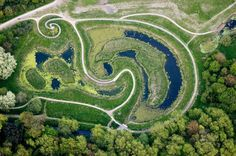 Land Art – Escaping the Grasp of the Art Market Land Art, Landscape Art, Landscape Design, Chris Drury, Permaculture Design, Ways Of Seeing, New Earth, Environmental Art, Public Art