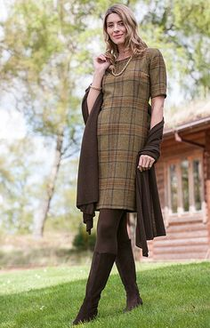 House of Bruar Ladies Tweed Dress