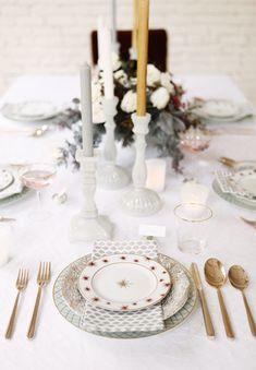 Sur ma table de fêtes on retrouvera de la porcelaine Bernardaud ; avec qui je travaille depuis longtemps dans mes restaurants afin de personnaliser mes assiettes. #espritdenoel