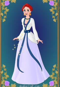 Oriental Princess: Ariel by GlamourGoth89.deviantart.com