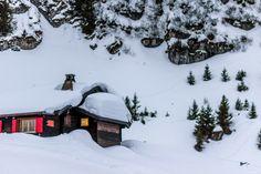 Schneeschuhtour in den Waadtländer Alpen #Villars #Chavonnes #Bretaye #snowshoeing #winter