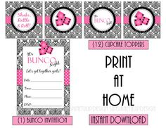1000 images about bunco on pinterest bunco party dice for How to print your own labels at home