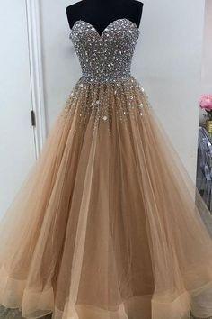 Prom Dresses 2019 #PromDresses2019, Prom Dresses Cheap #PromDressesCheap, Long Prom Dresses #LongPromDresses, A-Line Prom Dresses #ALinePromDresses