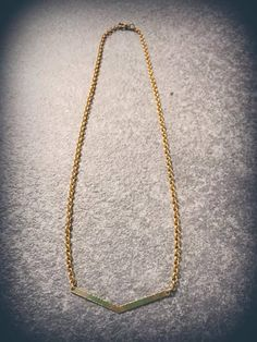 boho style jewelry Chevron gold plated necklace.. https://www.etsy.com/listing/555262142/chevron-gold-plated-necklace?ref=listing-shop-header-0