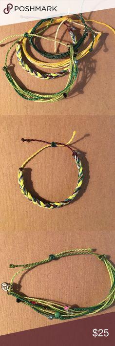 PuraVida bracelets Includes all 4 never been worn puravida bracelets Jewelry Bracelets