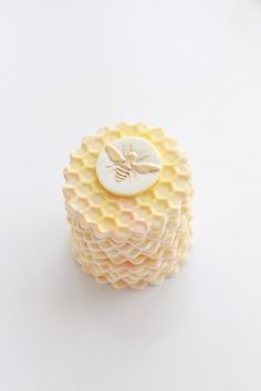 Honey Bee Cupcake Toppers. $21.00, via Etsy.
