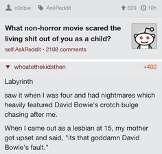 I'd be Pretty Scared Too