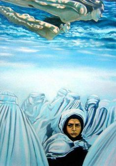 Un mundo, no dos. Pintura de Martín Perez Irusta.