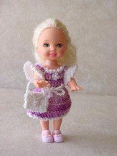 Cindy - Free crochet doll clothes pattern, Kelly dolls