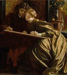 La lune de miel de Frederic Leighton Peintre 1864