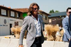 Men's suiting at Pitti Uomo