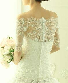 Ana's wedding dress.  http://christiangrey50shades.blogspot.co.uk/