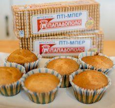 Γλυκές Τρέλες: Νόστιμα cup cakes με μπισκότο και σάλτσα καραμέλας!