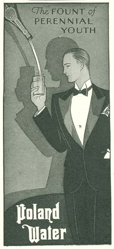 Gatsby-era Ads - Poland Water
