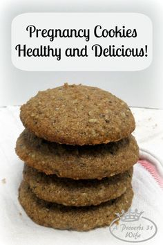 Pregnancy Recipe ~Healthy Cookies for You - Healthy cookies that are full of nutrients especially for pregnant ladies. Check out the full recip - Healthy Pregnancy Food, Pregnancy Nutrition, Pregnancy Foods, Pregnancy Memes, Pregnancy Pictures, Pregnancy Belly, Early Pregnancy, Foods High In Iron, Iron Rich Foods